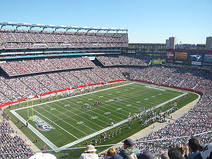 English: The Gillette Stadium Deutsch: Das Gil...