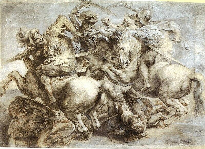 Archivo:Peter Paul Ruben's copy of the lost Battle of Anghiari.jpg