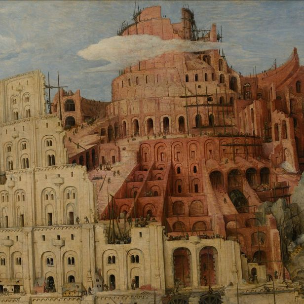 Pieter Bruegel the Elder - The Tower of Babel (Vienna) - Google Art Project-x1-y0