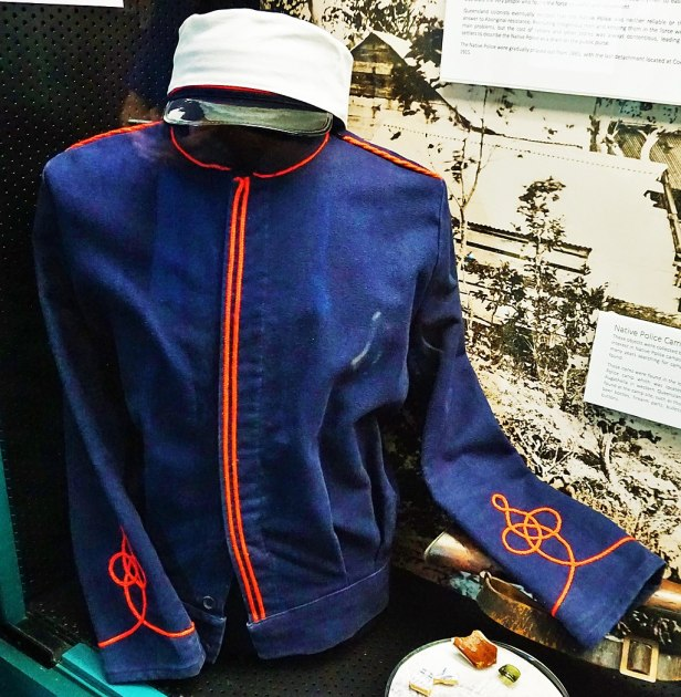 Queensland Police Museum - Joy of Museums - Australian Native Police Uniform
