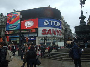 English: Piccadilly Circus, London