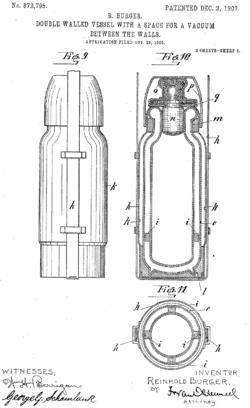 Vacuum Flask Diagram, Vacuum, Free Engine Image For User