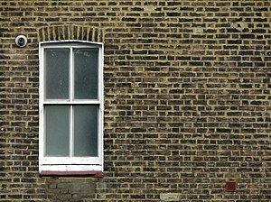 English: A sash window in Paddington, City of ...
