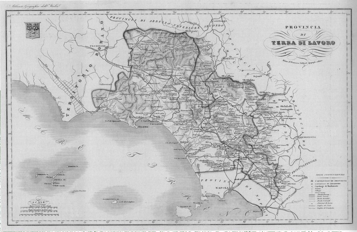 Provincia di Terra di Lavoro 18601927  Wikipedia