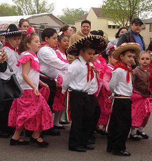Cinco de Mayo parade in Saint Paul, Minnesota,...