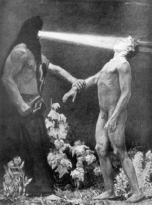 English: Sascha Schneider, Hypnosis, 1904 Deut...