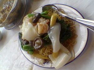 Ifu mie, Chinese food