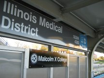 Illinois Medical District Station - Wikipedia
