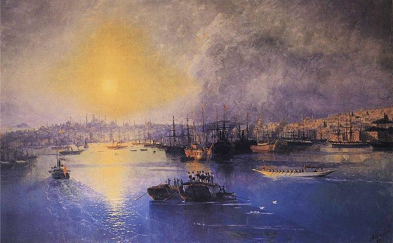 File:Ivan Constantinovich Aivazovsky - Constantinople Sunset.JPG