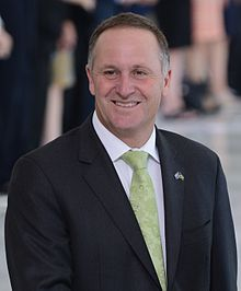 John Key, in a visit to Brazil, 2013