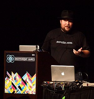 Markus Persson at GDC 2011