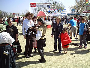 Medieval Fair in Norman, Oklahoma, United States.