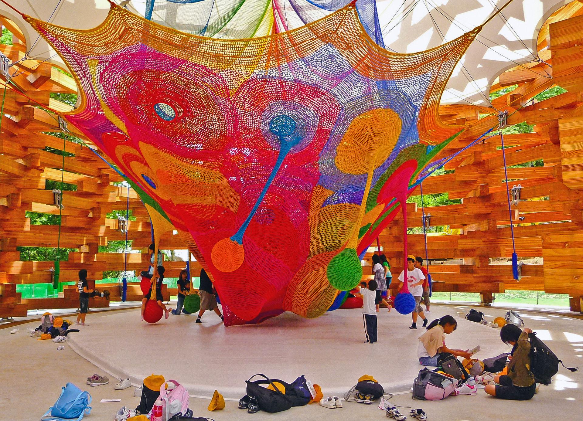 Playground at Fuji-Hakone-Izu National Park