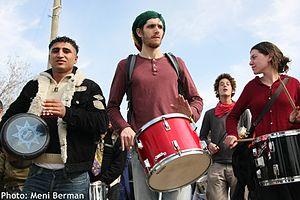 Israeli ROR in mass demo against the separatio...