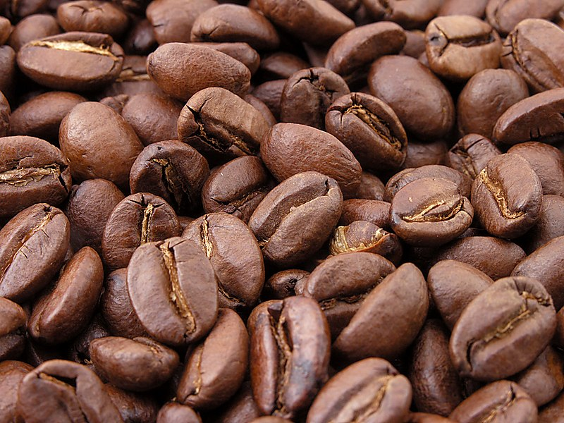 File:Roasted coffee beans.jpg