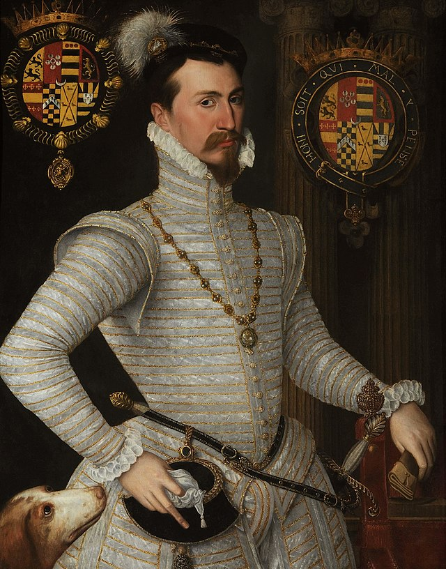 Portrait of Robert Dudley, Earl of Leicester