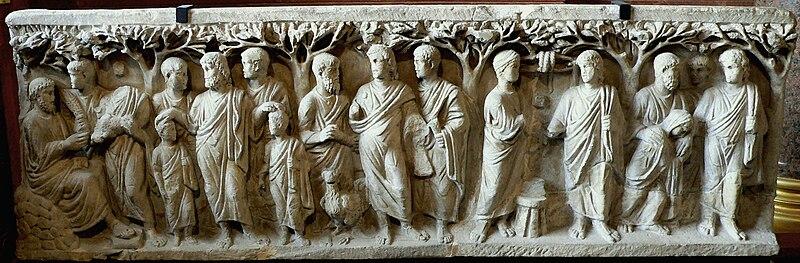 Sarkofag z drzewami, IV wiek