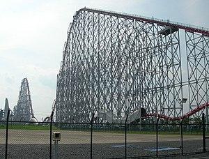 Steel Dragon 2000 roller coaster at Nagashima ...