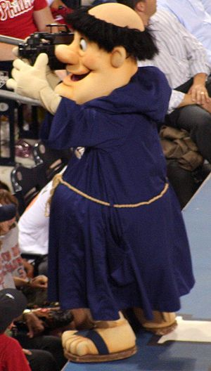 The Swinging Friar, the mascot for the San Die...