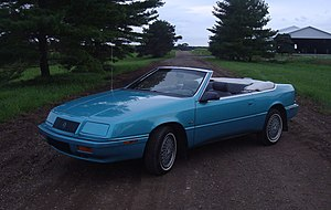 1992 Chrysler LeBaron GTC Convertible
