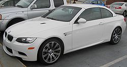 2009 BMW M3 convertible (US)
