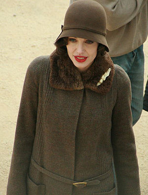 "Angelina Jolie on the set of ""Changeling&..."