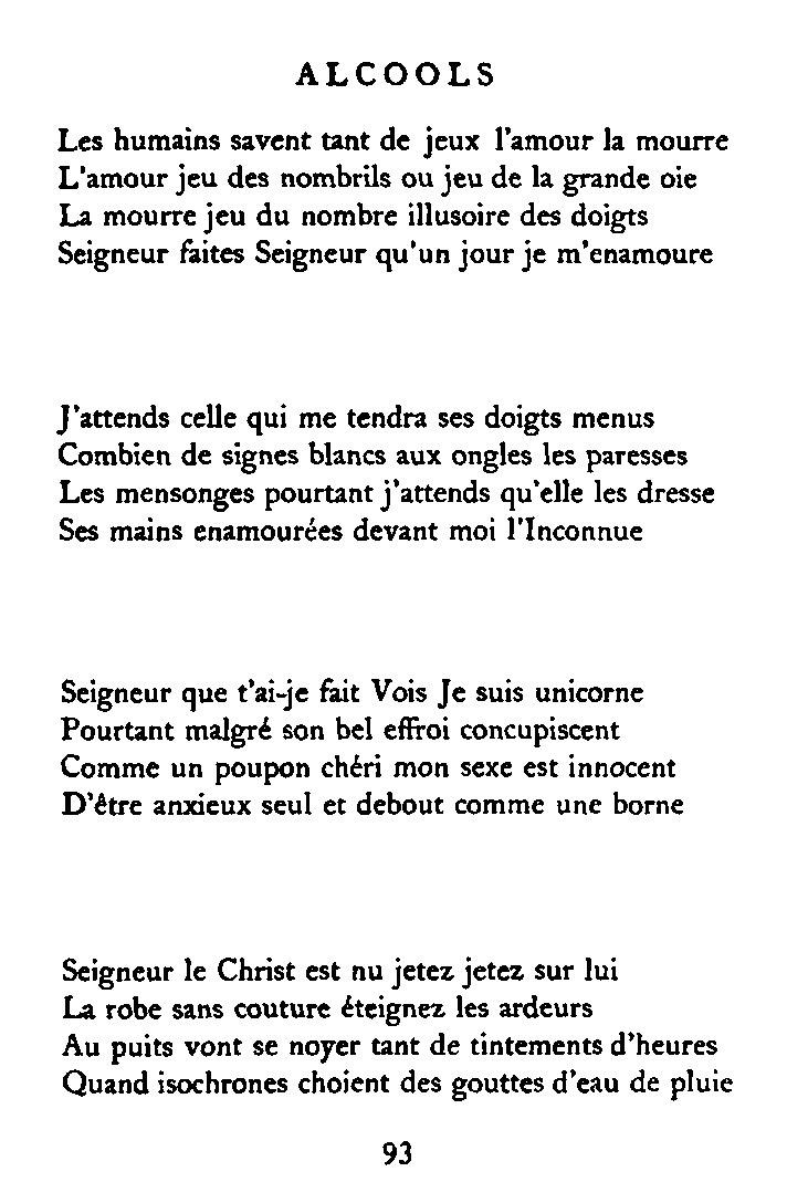 Combien De Signes Par Page : combien, signes, Page:Apollinaire, Alcools.djvu/93, Wikisource