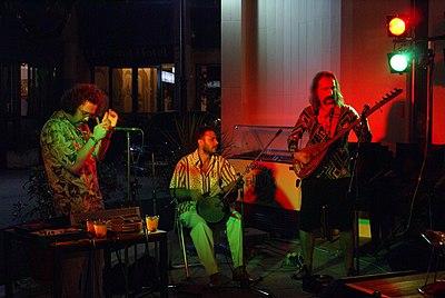 Baba Zula in concert, Pesaro, Italy, 2007