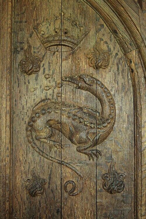 Détail-salamandre-porte