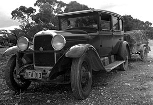 English: 1928 GB Studebaker Regal Commander, p...