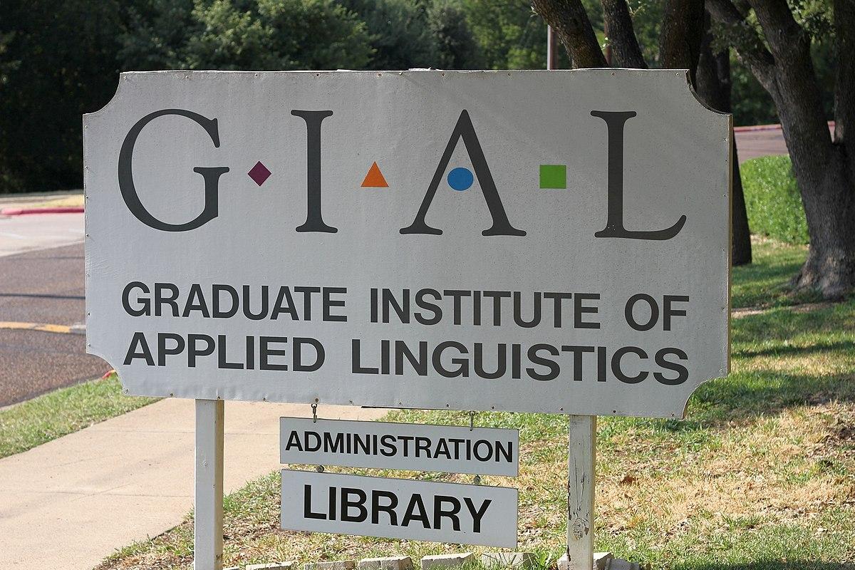 Graduate Institute Of Applied Linguistics  Wikipedia