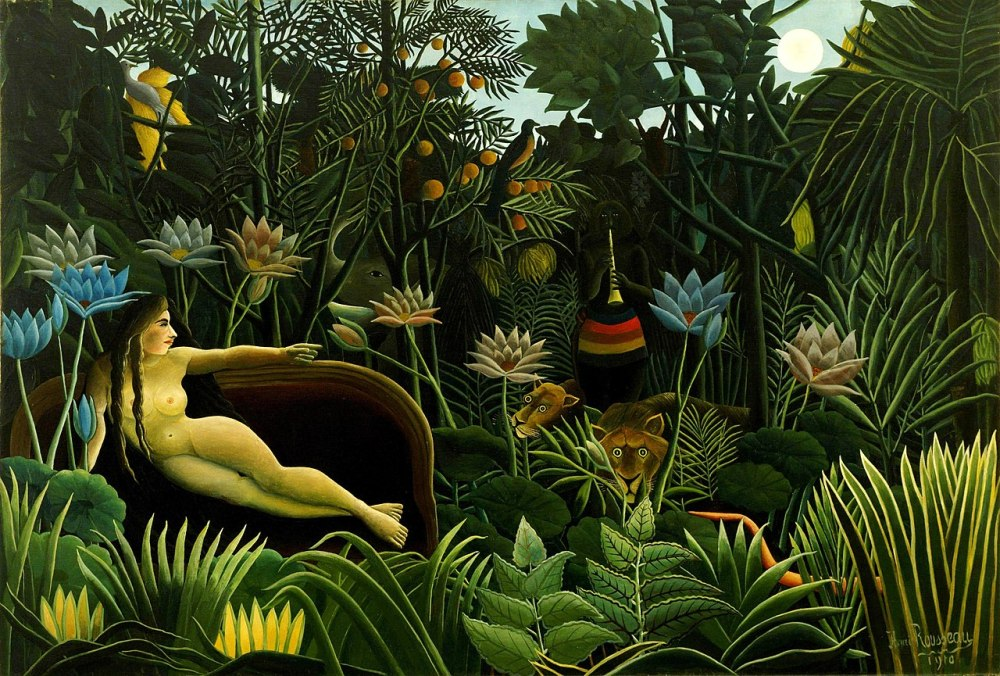 Henri Rousseau: The Dream (1910)