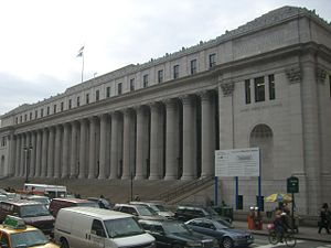 The James Farley Post Office in New York City,...