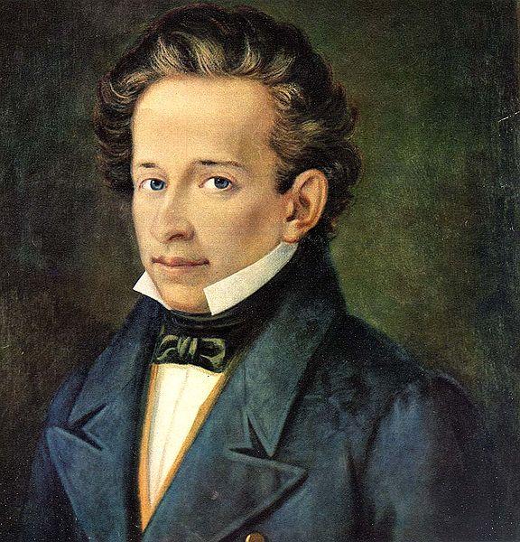 File:Leopardi, Giacomo (1798-1837) - ritr. A Ferrazzi, Recanati, casa Leopardi.jpg