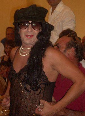 Sicilian female impersonator