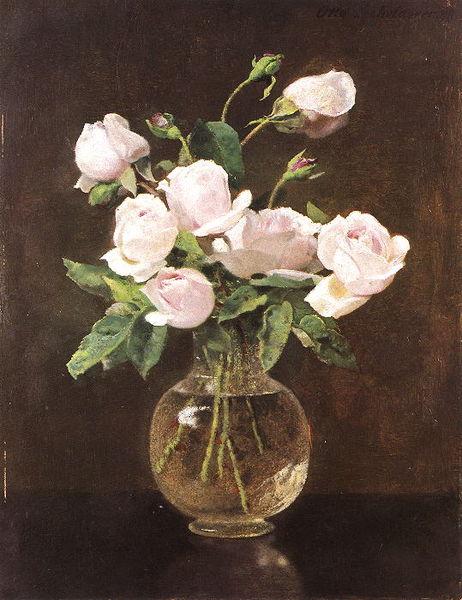 File:Otto Scholderer Rosen in Glasvase.jpg