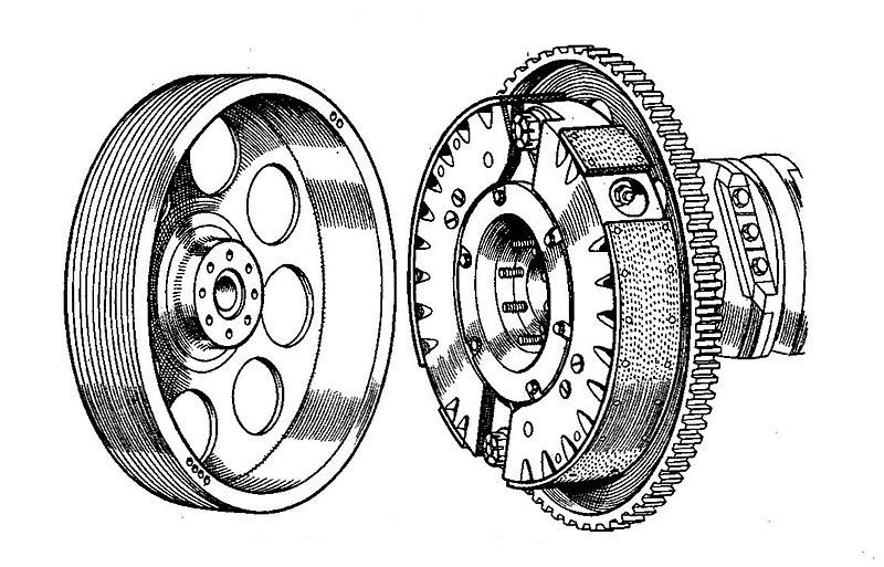 File:Talbot 'Traffic Clutch' automatic centrifugal clutch