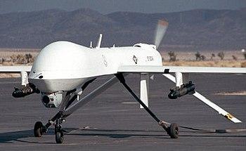 MQ-1L Predator UAV armed with AGM-114 Hellfire...