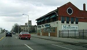 Woodward Ave in Detroit