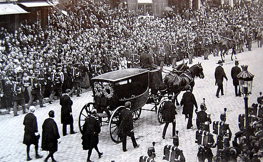 1er juin 1885 - Enterrement Victor Hugo