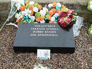 Bobby Sands' grave