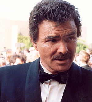English: Burt Reynolds on the red carpet for t...