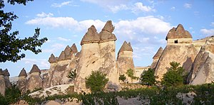 English: Fairy chimney in the Cappadocia