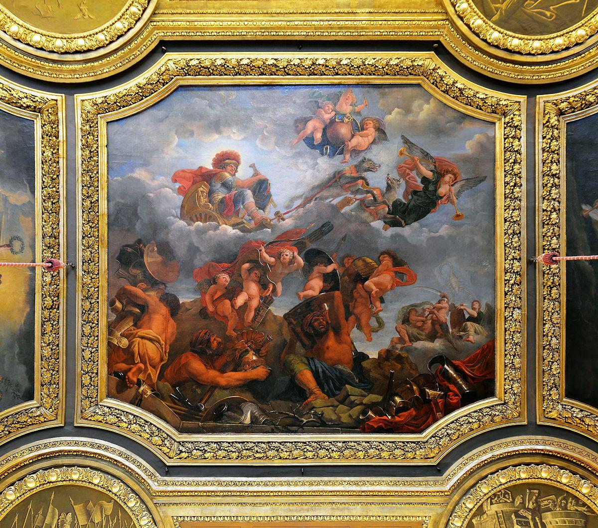 Salone di Marte Versailles  Wikipedia