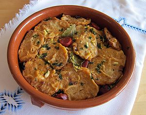 Potatoes to the importance. Traditional dish o...