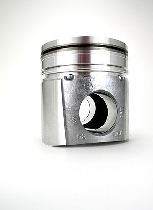 Cummins Diesel engine piston. permanent mold c...