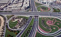 Image of Dubai's roads