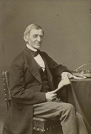 English: Photo of American Transcendentalist, ...