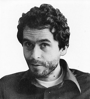 English: Ted Bundy's FBI photo when he was pla...