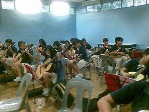 English: The Guitar Ensemble of the .